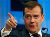 The West closes eyes tight to imagine Russia does not exist - Medvedev