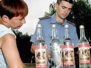 Russian man not allowed to drink 62 liters of vodka in four days