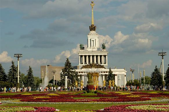 Gigantic Soviet era monument in Moscow was designed as cult of sanctuaries