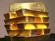 Russian gold and exchange currency reserves reached another peak