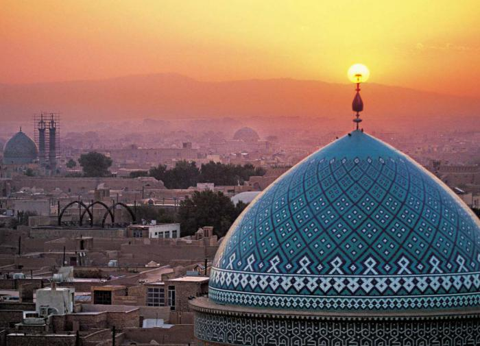 Peculiarities of the state structure of Iran: Spirituality above all