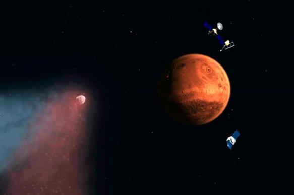 NASA finds bodies of aliens and flying saucer on Mars