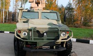 Russian Tigr armoured vehicles to enter Egypt