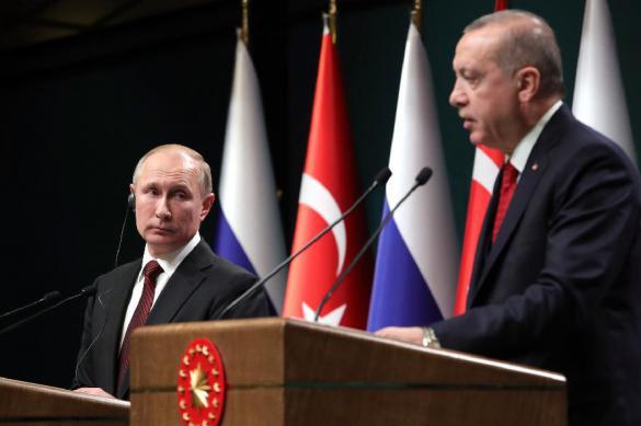 Erdogan steals Putin's girl