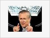 Donald Rumsfeld lets off steam