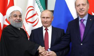 Trump concedes to Russia-Turkey-Iran troika that rules Syria