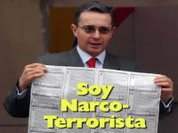 Organizations protest award to Uribe for fighting terrorism