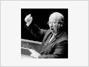 Cursing leaders: Lenin, Stalin, Khrushchev, Brezhnev, Yeltsin, Putin (until he finished 6th grade)