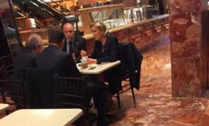 France's future president spotted in Trump Tower