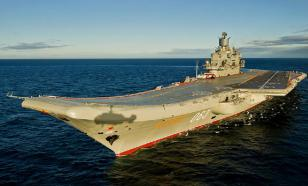 Western experts say Russia's aircraft carrier is the worst in the history of world navy