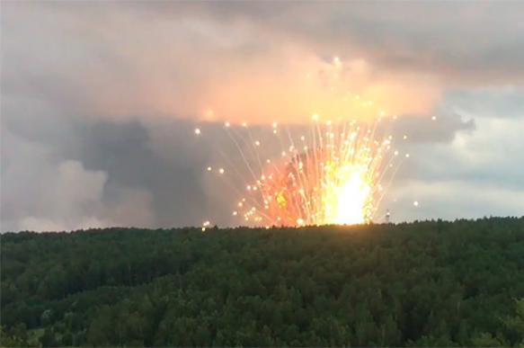 Aftermath of arms depot explosions in Russia: One killed, 33 injured