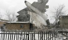 Boeing 747 cargo plane crashes on village in Kyrgyzstan, at least 37 killed. Video