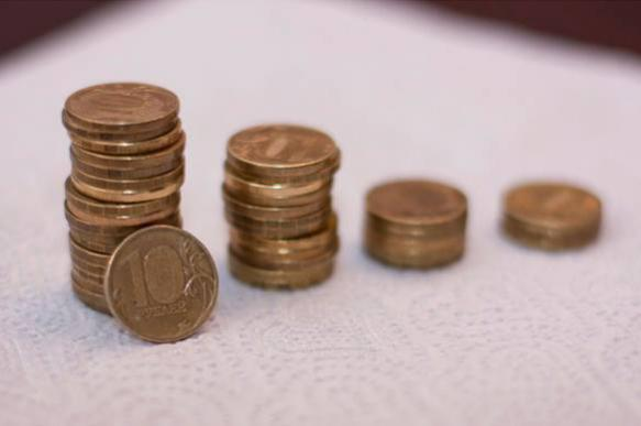 The Russian ruble: The coin with a scar