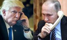 Trump and Putin spoke on the phone for 30 minutes