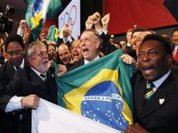 Opening event of Brazil Olympics, eliminate people