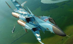Russian Su-35 fighters force Turkey's F-16 out of Syrian airspace