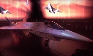 Sukhoi and Rostec unveil Russia's new fifth-generation fighter jet