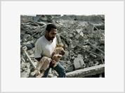 Israel suspends air raids to absorb international indignation over massacre in Qana