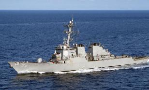 USS Donald Cook brings Tomahawk missiles next to Russian base in Syria's Tartus