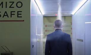 Putin installs disinfecting tunnels in his residence