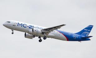 New Russian MC-21 passenger aircraft debuts in the sky at MAKS-2019 air show