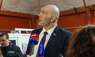 Nikolai Valuev snickers at poor Russians who made him rich MP