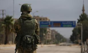 Russian soldier who served in Syria blows up military unit