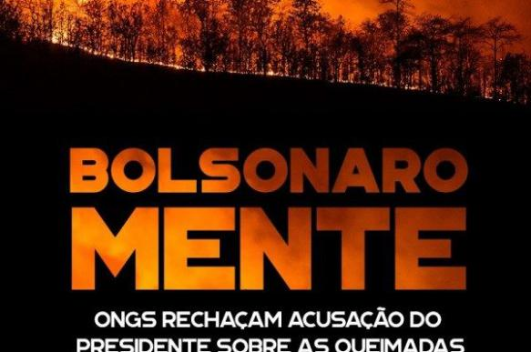 Bolsonaro doesn't need NGOs to burn Brazil's image around the world