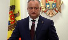 Joining NATO is unacceptable, Moldovan president says