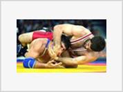 Wrestlers to fight desperately in Athens. Russians to even up with Americans