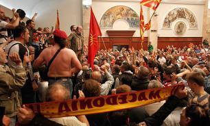 Civil war may break out in Macedonia