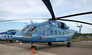 Russian Mi-38 helicopter shows better results with US engines