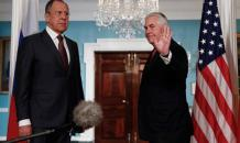 Russia s FM Lavrov finds many corners in the Oval Office