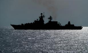 Russia takes its warships from Tartus into open waters of Mediterranean Sea