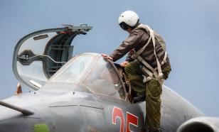 Sukhoi Su-25 crashes during training flight in Russia