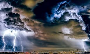Lightning storms kill 107 in India
