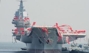 China's new aircraft carrier named after human reproductive organ