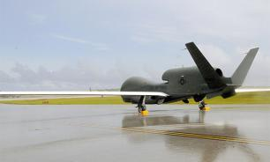 US spy drone detected above the Black Sea
