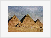 Egyptians used their pyramids as waterworks to pump water from Nile