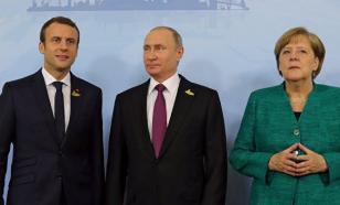 Should Putin bow to Merkel and Macron?