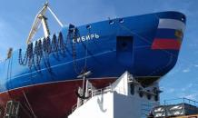 Russia launches world s most powerful nuclear icebreaker