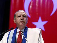 Erdogan accuses Syria of IS support