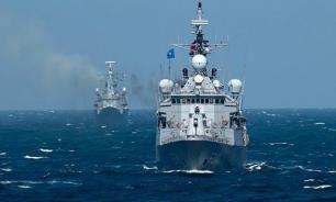 Russia and China hold joint naval drills