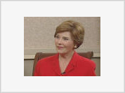 First Lady Laura Bush is now in the hot seat