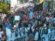 Protests against austerity in Europe