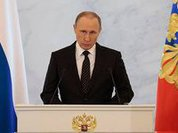 Putin: Russians believe in their future in strong Russia