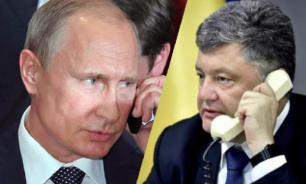 Why do Putin and Poroshenko hold secret phone talks?