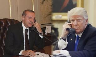 Erdogan checked in Washington