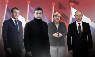 Putin, Macron and Merkel want to discuss Ukraine, but fail