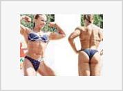 Russian female bodybuilder wins world championship in Spain
